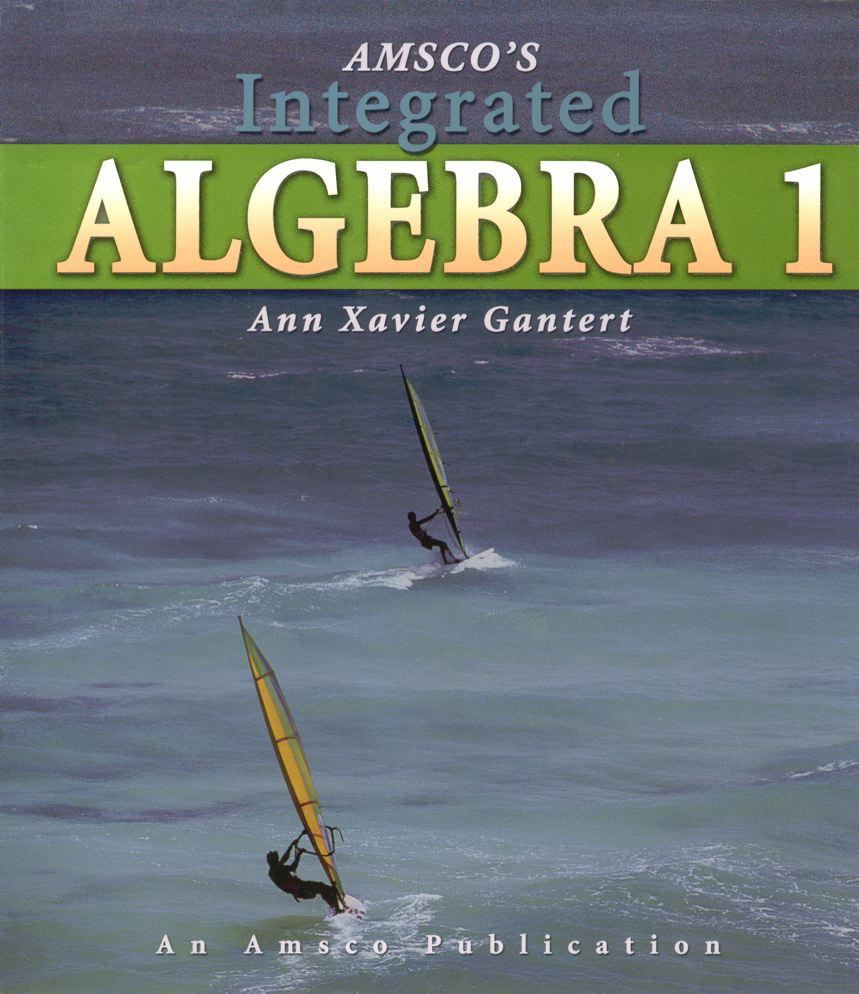 JMAP's Regents Worksheets tied to the Integrated Algebra 1 textbook in ...