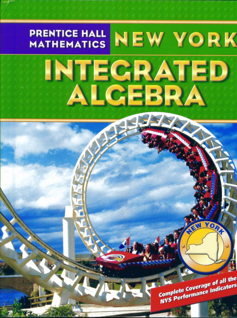 new york integrated algebra textbook